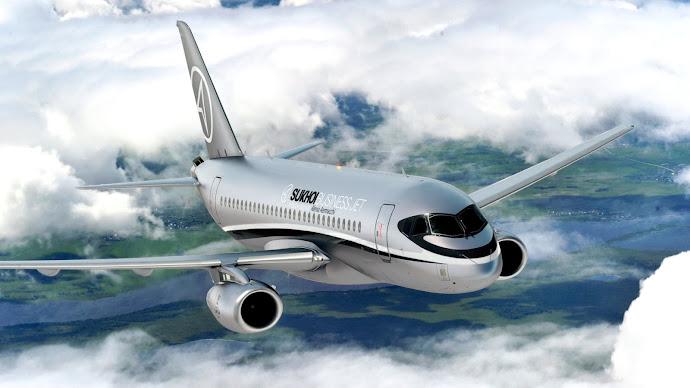 Wallpaper: Sukhoi Business Jet