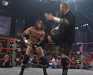 TNA Slammiversary 2005 - BG James battles Chris Harris