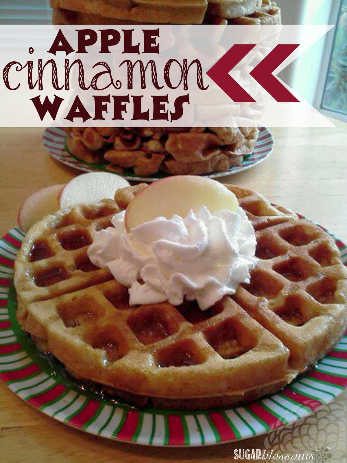 http://sweetsugarblossoms.blogspot.com/2014/01/apple-cinnamon-waffles.html