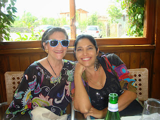 Karen and Vivica (Italy, Summer 2013)