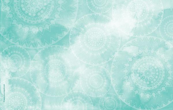 Paper Squid : AUGUST'S MANDALA INSPIRED DESKTOP WALLPAPER