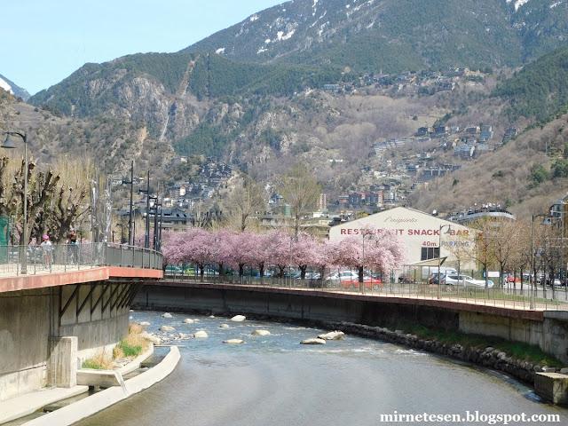 Андорра-ла-Велья - река Гран-Валира