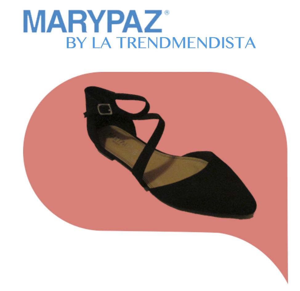 ee4d637e4 Combinamos una sandalia cerrada Negra de Marypaz