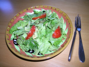 Plate with Summer Salad