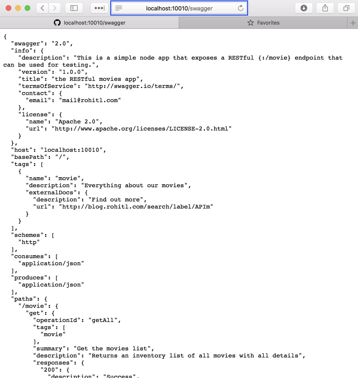 Azure API Management - Your back-end api (Part 2)