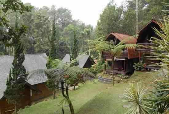 cikole Resort Lembang Villa dan Bumi Perkemahan Bandung