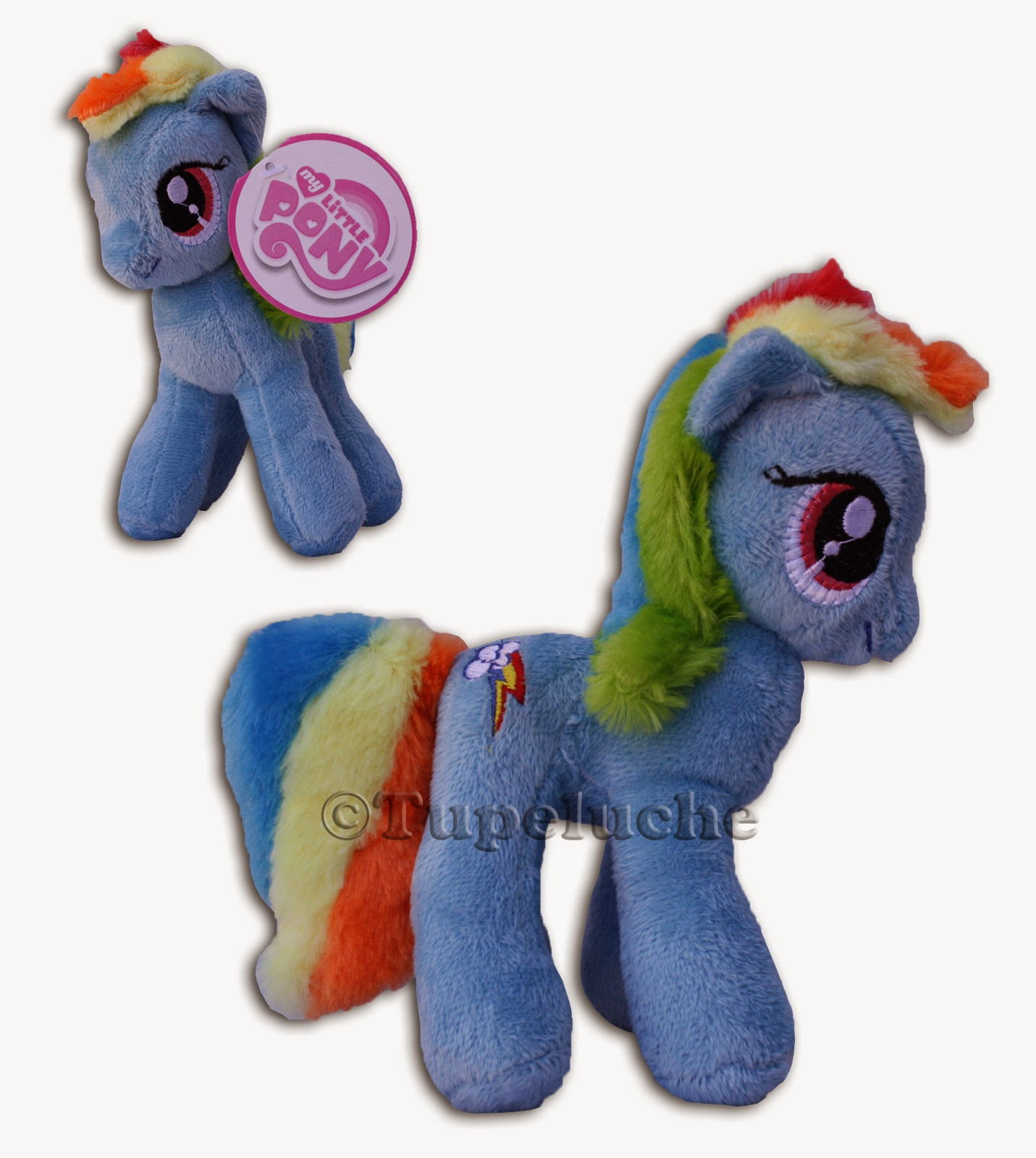 Rainbow Dash Play by Play Plush