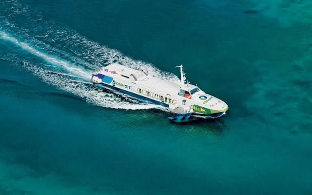 Ταλαιπωρία για 123 επιβάτες που ταξίδευαν για Πόρο με το «Φλάινγκ Ντόλφιν 18»