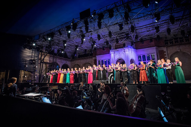 SWAP'ra gala at Opera Holland Park (Photo Robert Workman)
