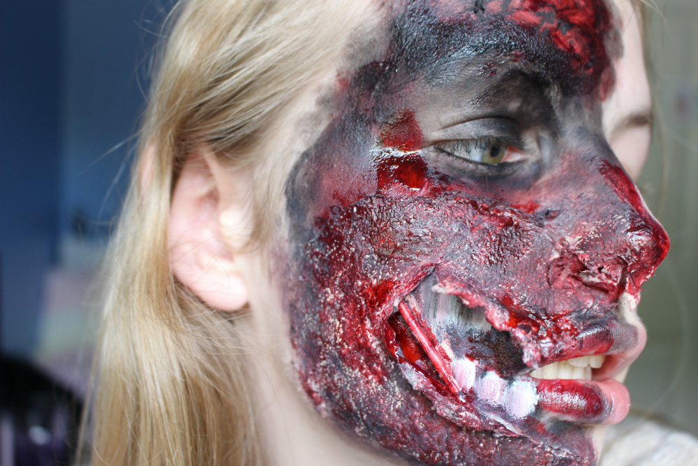 Two Face FX Makeup