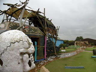 Photo of Mr Mulligan's Pirate Golf course at the Abbey Hill Golf Centre in Milton Keynes, Buckinghamshire
