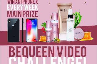 Menangi hadiah IphoneX setiap minggu dengan #BeQueenChallengeMY