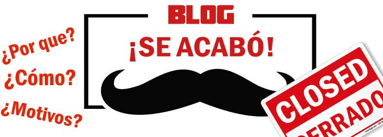 cerrar blog