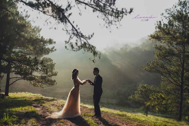 những địa điểm chụp hình cưới đẹp ở đà lạt