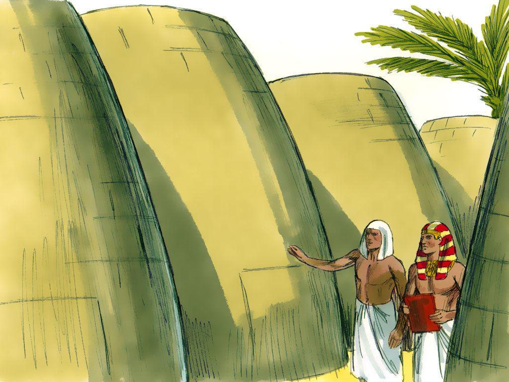 Religious Artist Joseph Rules In Egypt