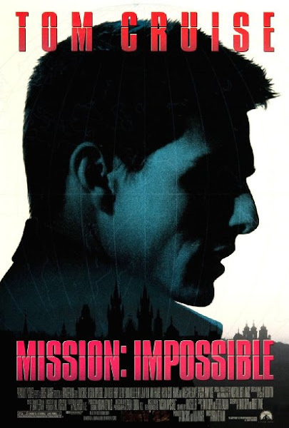 Poster Of Mission Impossible 1996 720p Hindi BRRip Dual Audio Full Movie