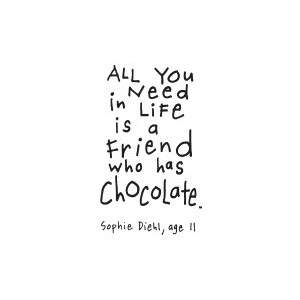 Inspirational Quotes About Chocolate. QuotesGram