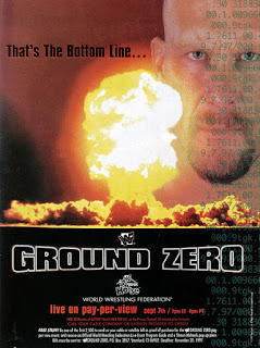 WWF / WWE: Ground Zero - In Your House17: Event poster