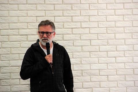 Fotorelacja #2 - spotkanie autorskie z Andrzejem Saramonowiczem