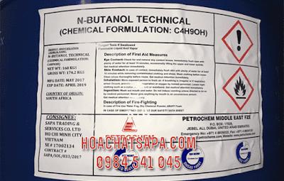 Dung moi n-Butanol Tech [Nomar Butyl Alcohol]