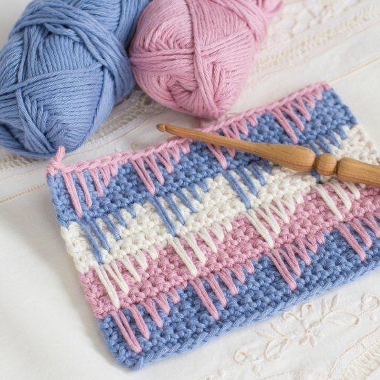 ►Como Fazer:   Crochê , Ponto Espigão  - Fácil Tutorial...