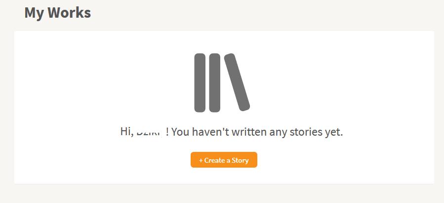 Menulis cerita baru