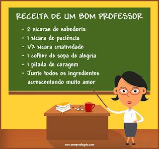 Recita de um bom professor