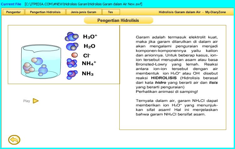 hidrolisis garam dalam air materi hidrolisis.swf asam basa garam pH asam pH basa pH garam. swf materi pelajaran kimia sma ma smk mak. h-g-a.swf