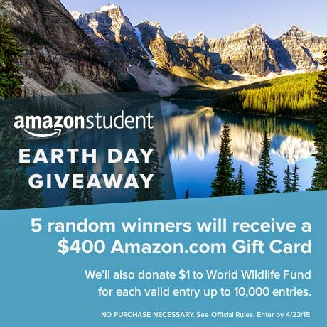 Amazon Earth Day Giveaway