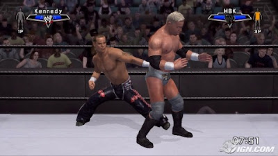 Download WWE Smackdown VS Raw 2007 Highly Compressed Game For PC