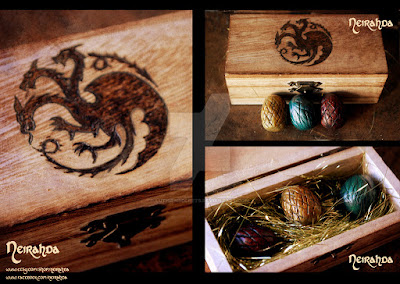 Dragon Eggs from A Song og Ice and Fire by George R.R. Martin