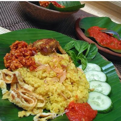 Resep Nasi Kuning Rice Cooker By @riesmayanthi
