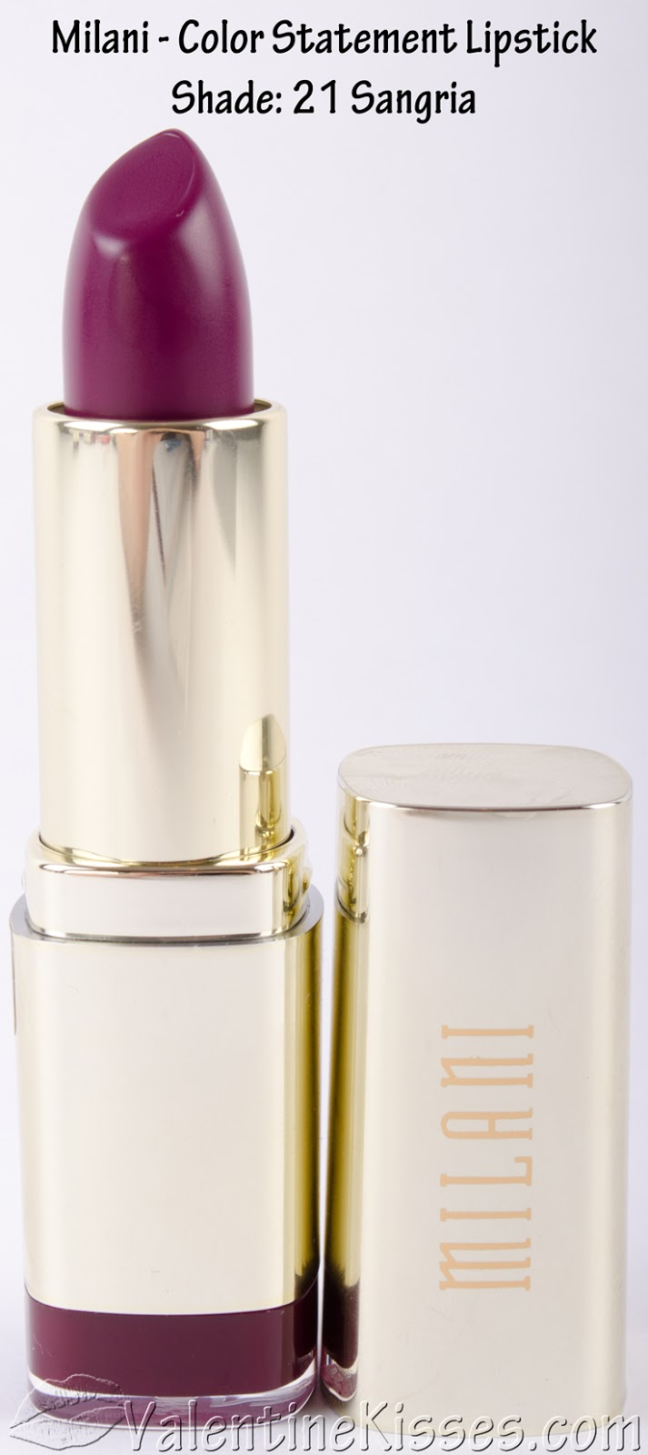 All Shades Of Kylie Lip Kits: Valentine Kisses: Milani Color Statement Lipstick
