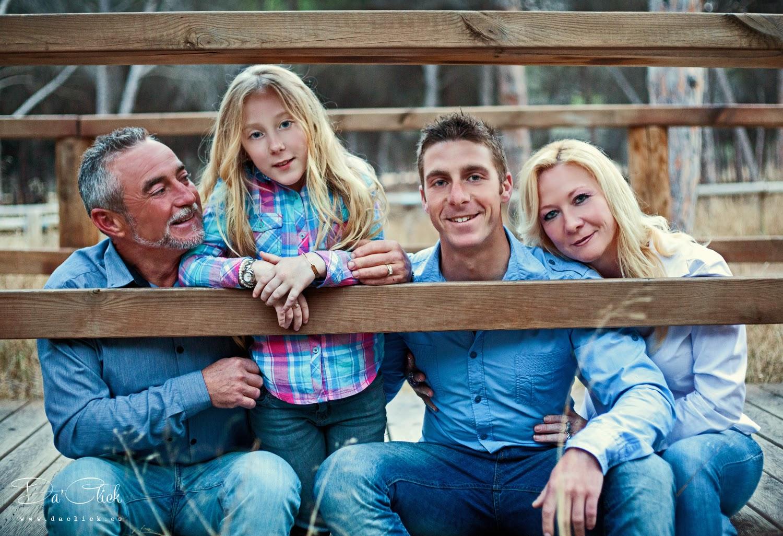 María y su familia