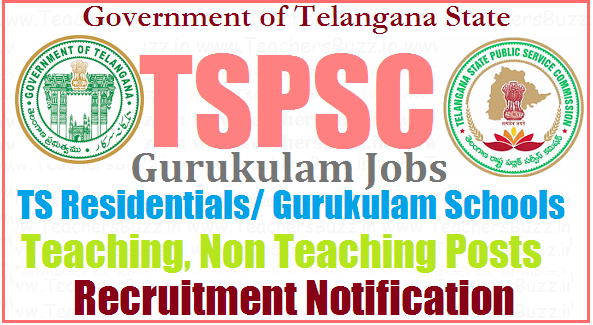 TSPSC Recruitment 2017 for Gurukul Teacher Posts – Apply Online