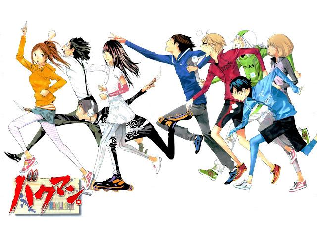 Bakuman characters