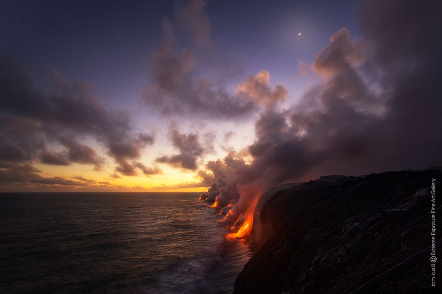 Lava at Sunset