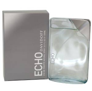 Echo by Davidoff for Men, Eau De Toilette Spray 3.4 Ounces