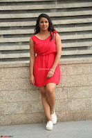Shravya Reddy in Short Tight Red Dress Spicy Pics ~  Exclusive Pics 119.JPG