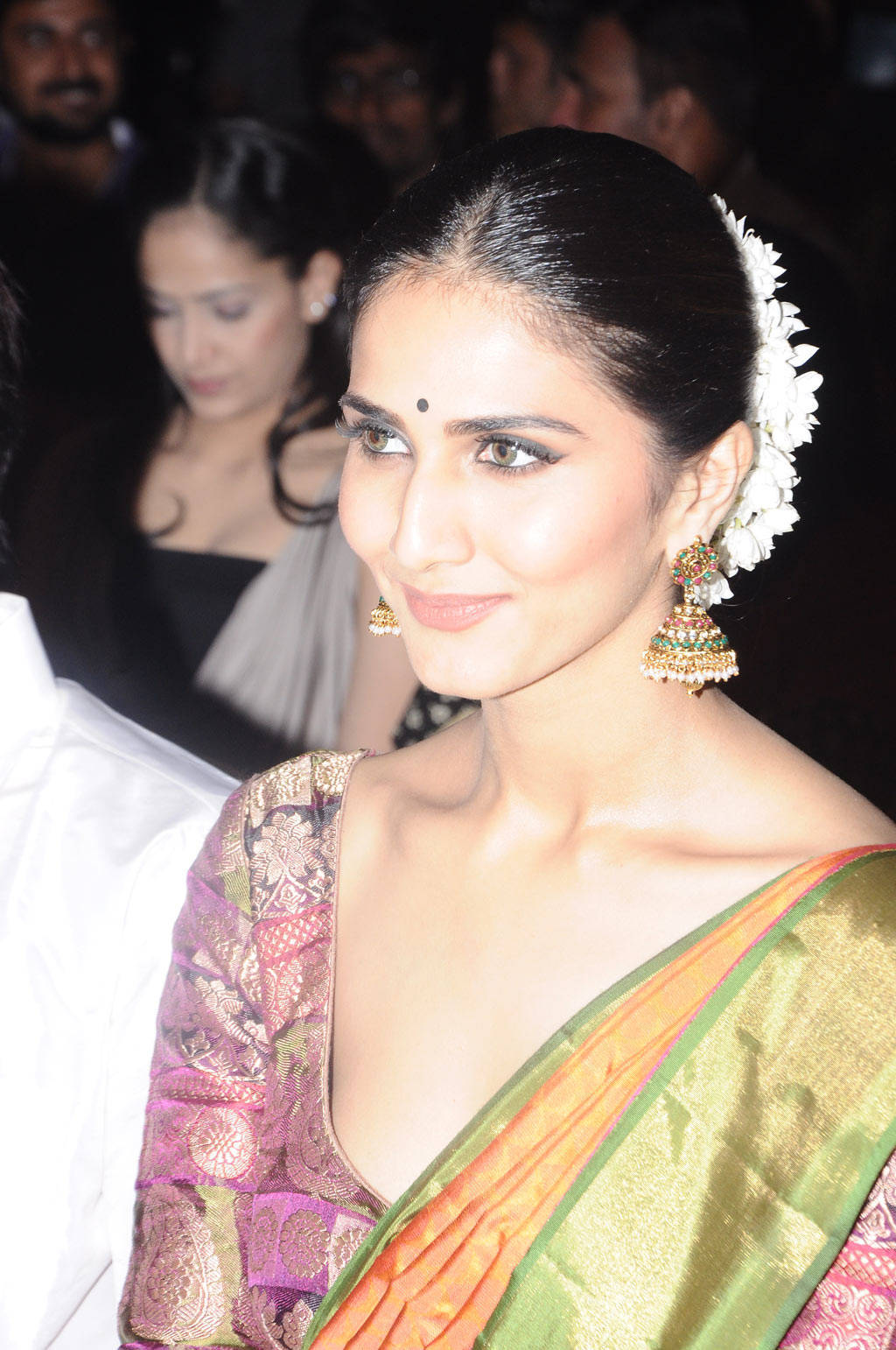 Vaani Kapoor In Green Saree