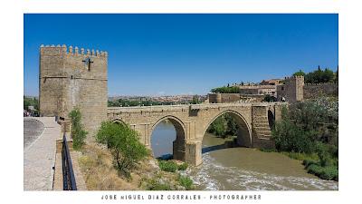 Puente de San Martín en Toledo
