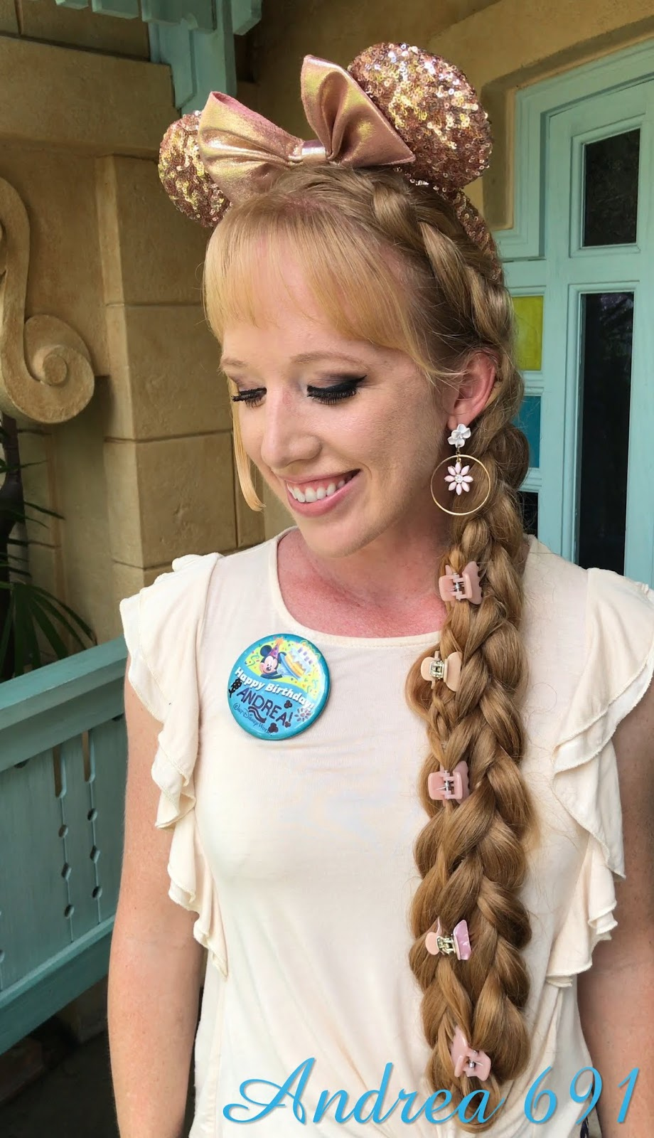 braids & hairstyles for super long hair: happy birthday