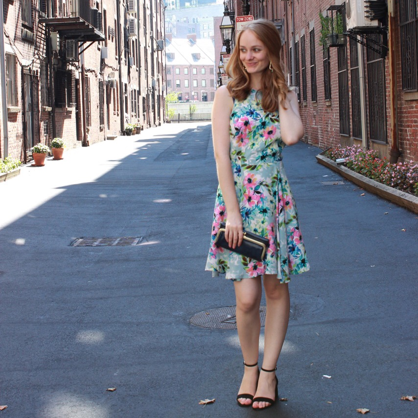 Shake the Tree Boston: Floral Dress