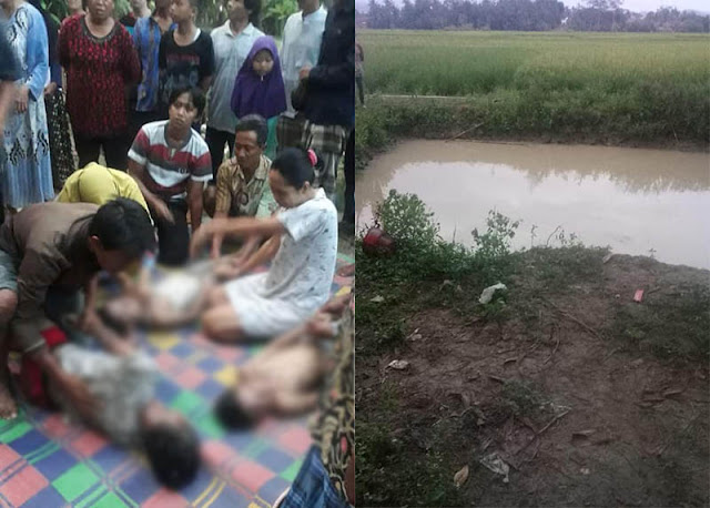 Bermain di Kubangan, Tiga Bocah Tewas Tenggelam
