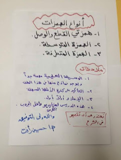 ملفات هامة فى اتقان همزات الكلمات و قواعد وضعها و إغفالها المنهاج المصري 7485_196037647409792