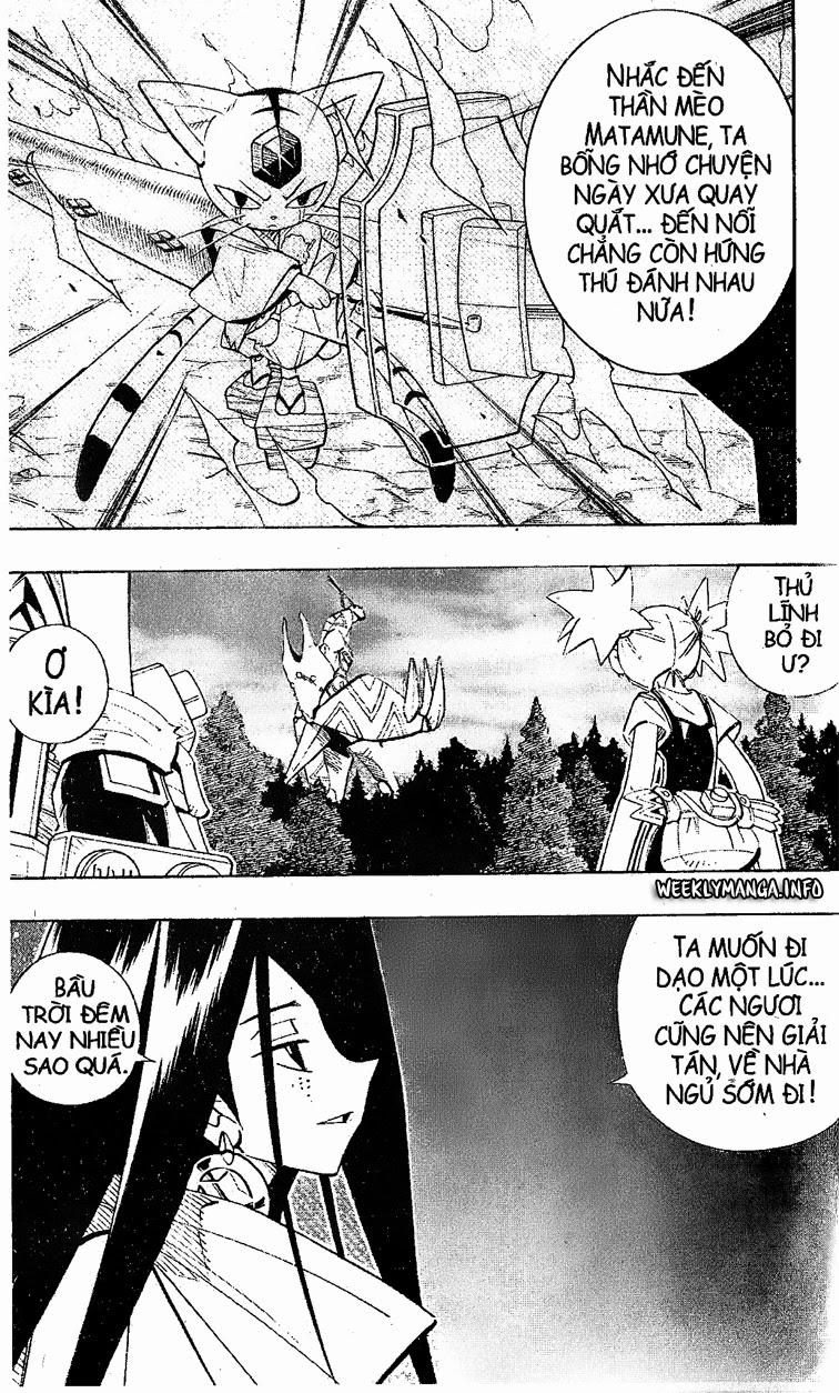 Shaman King [Vua pháp thuật] chap 198 trang 16