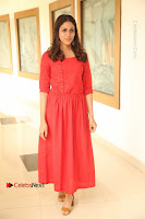 Actress Lavanya Tripathi Latest Pos in Red Dress at Radha Movie Success Meet .COM 0019.JPG