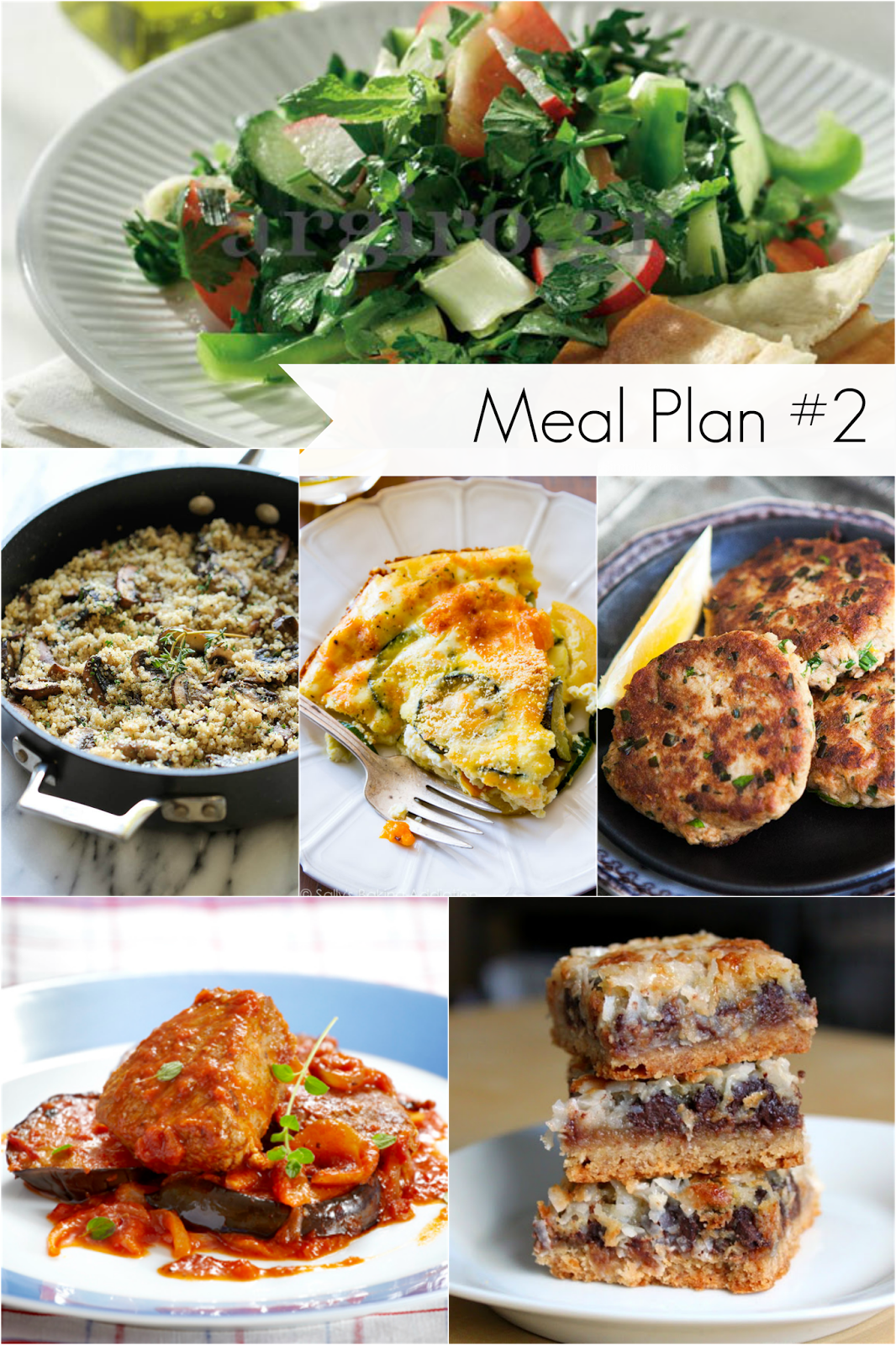 Ioanna's Notebook - Meal plan #2