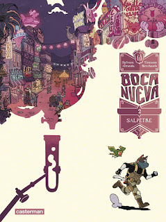 [7BD] Boca Nueva tome 2 - Salpêtre aux éditions Casterman