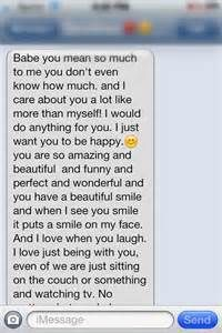 A Sweet Paragraph To Send To Your Girlfriend Love You Messages